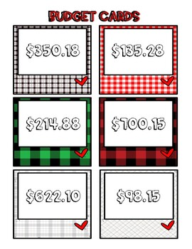 Decimal/ Whole Number Holiday Gift Giving Activity