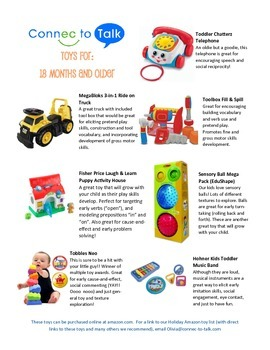 Holiday Gift Guide! Speech Therapist approved!