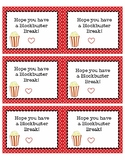 Holiday Gift Student Gift Tags