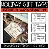 Holiday Gift Tag Free Printables!