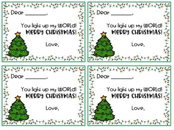 Holiday Gift Tags!
