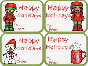 *FREEBIE* Holiday Gift Tags