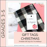 Holiday Gift Tags | Christmas Gift Tags | Present Tags | Holiday Printables
