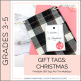 Holiday Gift Tags | Christmas Gift Tags | Present Tags | H