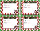 Holiday Gift Tags- Editable!