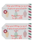 Holiday Gift Tags For Students!