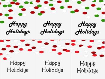 Holiday Gift Tags {Freebie}