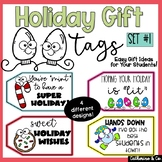 Holiday Gift Tags for Student Gifts   Christmas