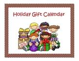Holiday Gift calendar 2019