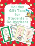 Holiday Gift tags for Students/ Co-workers