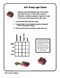 Holiday Gifts Logic Puzzle