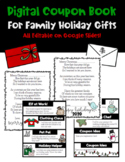 Holiday Gifts from Student to Family Digital Coupon Book & Poem!