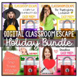 Christmas Activities Holiday Digital Escape Room Google Cl