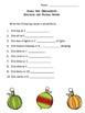 Holiday Grammar Packet
