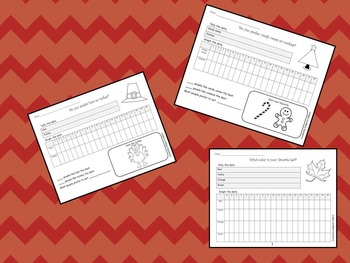 Holiday Graphing Activities