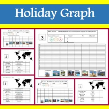 Holiday Graphing Worksheets