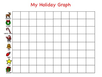 Holiday Graphing in Kid Pix