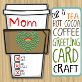 Holiday Greeting Card Craft - A Cup of Tea, Hot Chocolate,