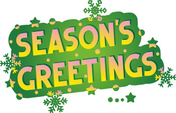 Holiday Greetings – Season's Greetings - Six Variants, Commercial Use Allowed