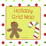 Holiday Grid Map Activity