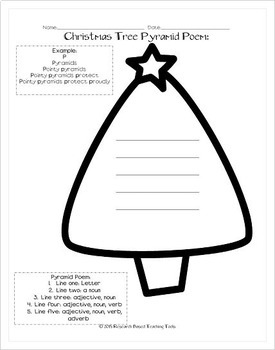 December Math Grids and Poetry Activities