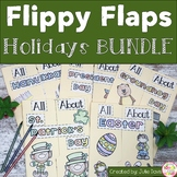 Holiday Growing Bundle Activities Interactive Notebook Lapbook