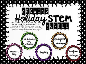 Holiday Growing STEM Bundle