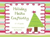 Holiday Haiku Craftivity