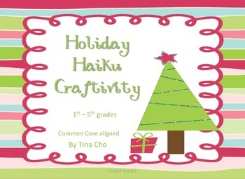 Holiday Haiku Craftivity