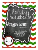 Holiday Handbells, Jingle Bells: Whole Note, Half Note, Quarter Note/Rest