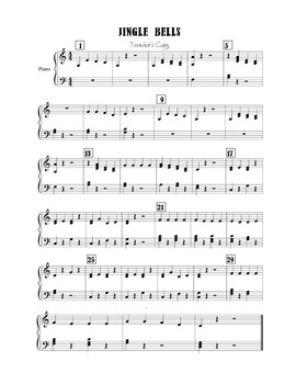 Holiday Handbells, Jingle Bells: Quarter note/rest