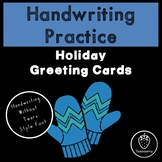 Holiday Handwriting Practice with Handwriting Without Tear