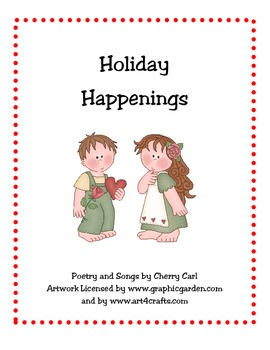 Holiday Happenings Poetry and Songs