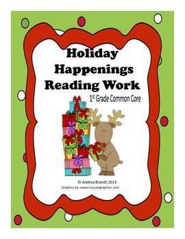 Holiday Happenings Reading Work