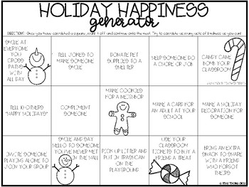 Holiday Happiness Generator