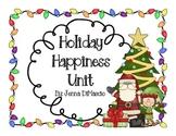 Holiday Happiness Unit (Christmas, Mexico, Hanukkah, Kwanzaa, Gingerbread)