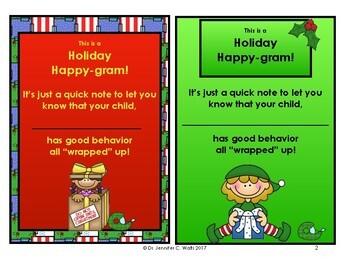 Holiday Happy-gram!