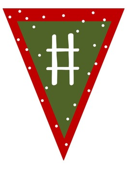 Holiday Pennant Banners