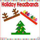 Holiday Headbands Reindeer Antlers-Christmas Tree and lIghts
