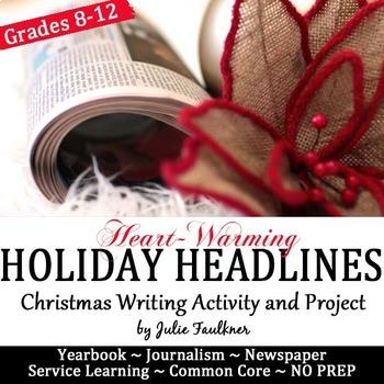 Headline Writing Practice for Yearbook or Newspaper, Chris