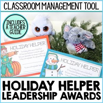 Holiday Helpers Leadership Awards