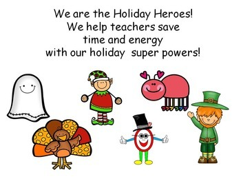 Kiddos Connect to the Holiday Heroes Bundle--Celebrate with Fun!