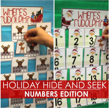 Holiday Hide and Seek - Numbers Edition