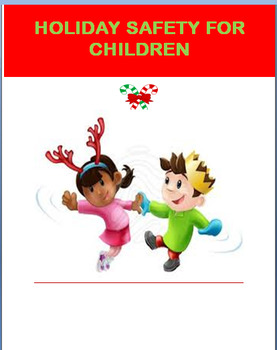 "Holiday "" Holiday Safety/ Fun Activities""- lesson,fun acti"