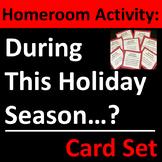 Holiday Homeroom Activity