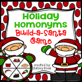 Homonyms: Build A Santa Game
