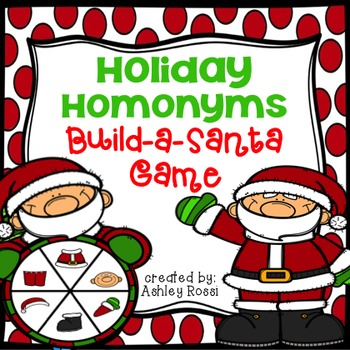 Homonyms: Build A Santa Game