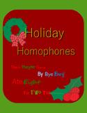 Holiday Homophones