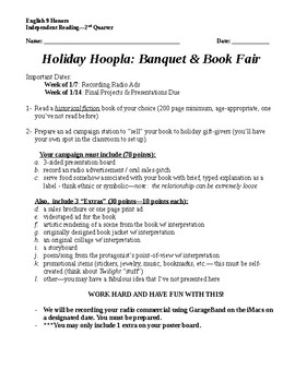 Holiday Hoopla: Banquet & Book Fair