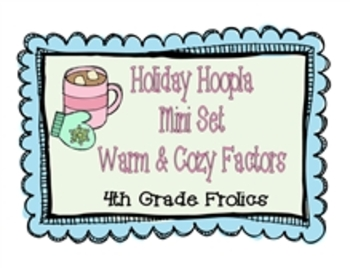 Holiday Hoopla Mini Set Warm and Cozy Factors
